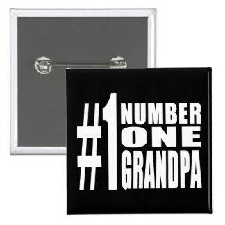 Grandpas Birthdays & Christmas Number One Grandpa Pin