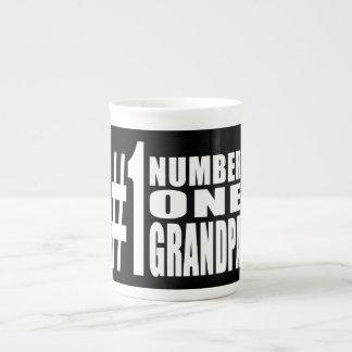 Grandpas Birthdays & Christmas Number One Grandpa Bone China Mugs