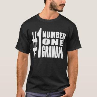 Grandpas Birthdays & Christmas Number One Grandpa T-Shirt