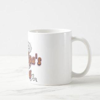 Grandpa's Boo Halloween Ghost Coffee Mug
