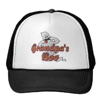 Grandpa's Boo Halloween Ghost Trucker Hat