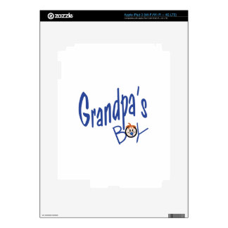 Grandpas Boy Decal For iPad 3