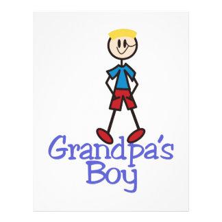 Grandpas Boy Letterhead