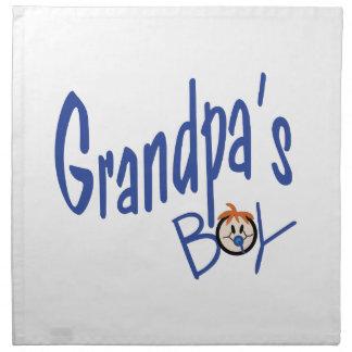 Grandpas Boy Napkin