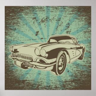 Grandpa's Car Poster