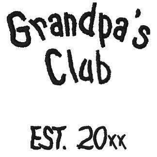 Grandpa's Club Embroidered Shirt