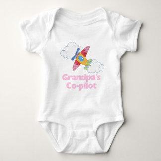 Grandpa's Copilot Girl Shirt