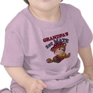 Grandpa's First Mate Pirate Shirt