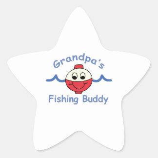 GRANDPAS FISHING BUDDY STAR STICKER