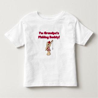 Grandpas Fishing Buddy Toddler T-shirt