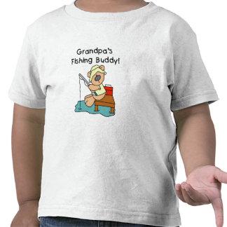 Grandpa's Fishing Buddy Tshirts