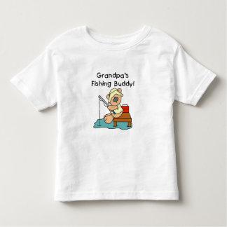 Grandpa's Fishing Buddy Tshirt
