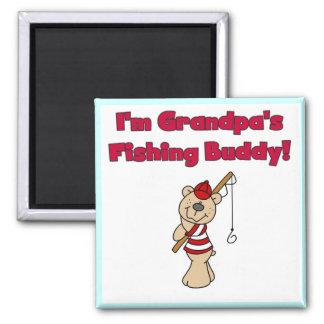 Grandpa's Fishing Buddy Tshirts and Gifts Magnet