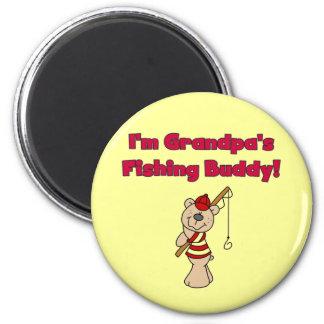 Grandpa's Fishing Buddy Tshirts and Gifts Refrigerator Magnet