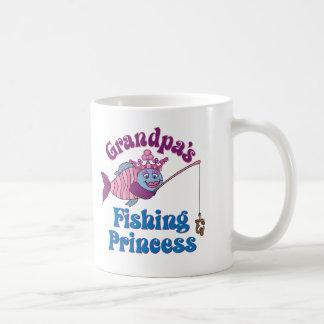 Grandpa's Fishing Princess Coffee Mug