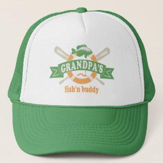 Grandpa's Fish'n Buddy Trucker Hat
