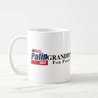 GRANDPAS FOR PALIN CLASSIC WHITE COFFEE MUG