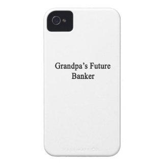 Grandpa's Future Banker iPhone 4 Covers