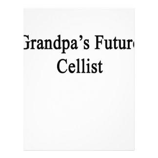 Grandpa's Future Cellist Letterhead
