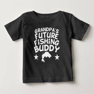 Grandpa's Future Fishing Buddy Baby T-Shirt