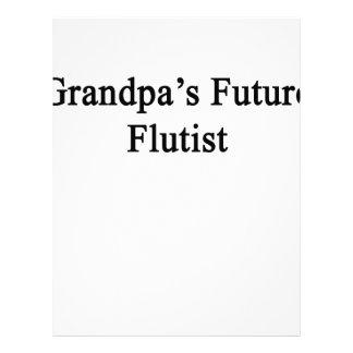 Grandpa's Future Flutist Letterhead