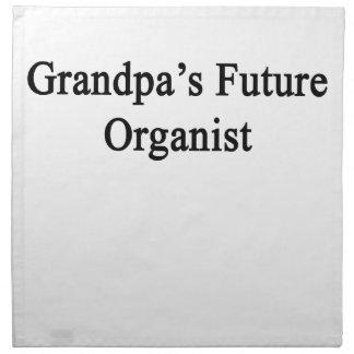 Grandpa's Future Organist Cloth Napkin