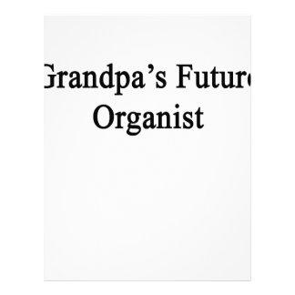 Grandpa's Future Organist Letterhead