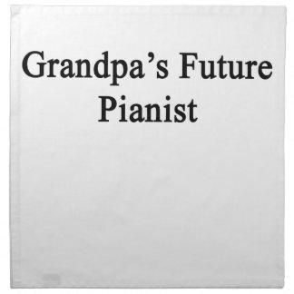 Grandpa's Future Pianist Cloth Napkin