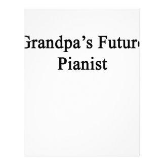 Grandpa's Future Pianist Letterhead