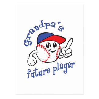 GRANDPAS FUTURE PLAYER POSTCARD
