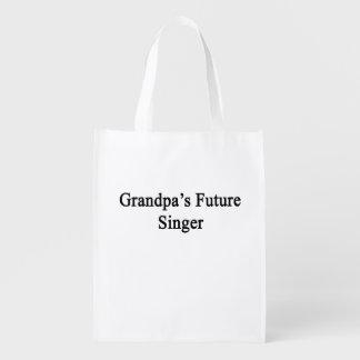 Grandpa's Future Singer.png Grocery Bag