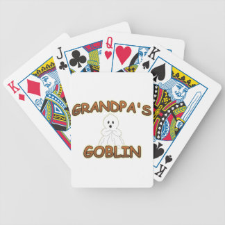 Grandpas Goblin Bicycle Playing Cards