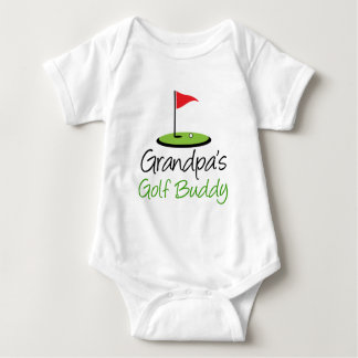 Grandpa's Golf Buddy Baby Bodysuit