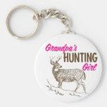 Grandpa's Hunting Girl Keychains