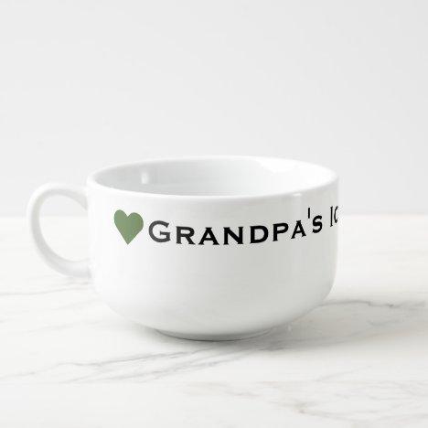 Grandpa's Ice Cream Bowl