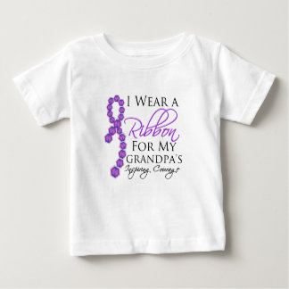 Grandpa's Inspiring Courage - Pancreatic Cancer Infant T-shirt