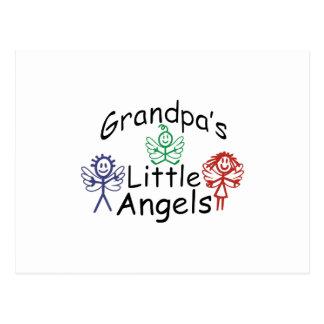 Grandpas Little Angels Postcard