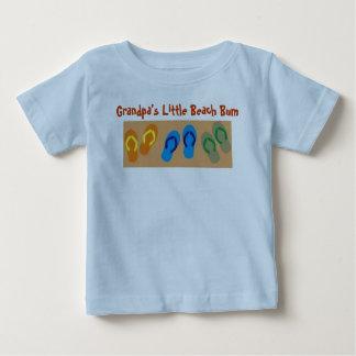 Grandpa's Little Beach Bum Baby T-Shirt