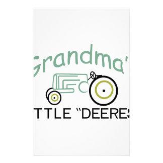 Grandpas Little Deeres Stationery