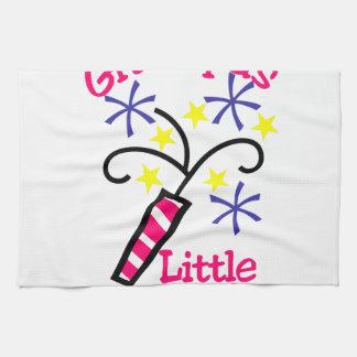 Grandpas Little Firecracker Kitchen Towel