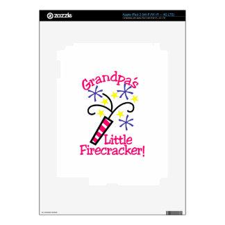 Grandpas Little Firecracker Skin For iPad 3