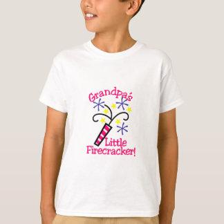 Grandpas Little Firecracker T-Shirt