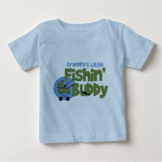 Grandpa's Little Fishin' Buddy Baby T-Shirt