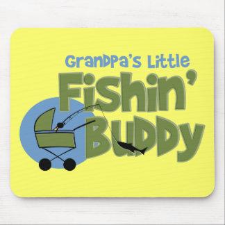 Grandpa's Little Fishin' Buddy Mouse Pad