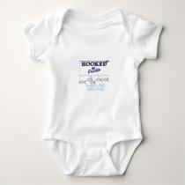 Grandpas Little Fishing Buddy Baby Bodysuit