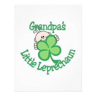 Grandpa's Little Leprechaun Letterhead