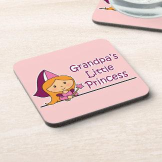 Grandpa's Little Princess Beverage Coaster
