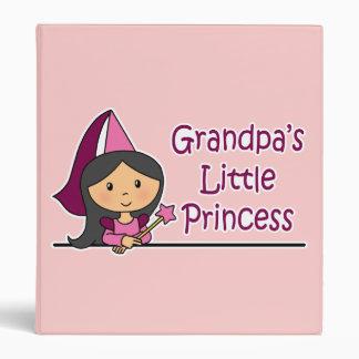 Grandpa's Little Princess Binder