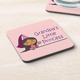 Grandpa's Little Princess Coaster