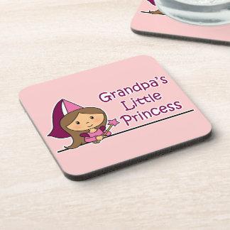 Grandpa's Little Princess Drink Coaster